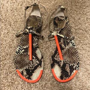 Dolce Vita Flat T-Strap Thong Sandals